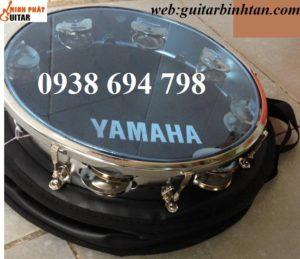 Trống gõ bo inox Yamaha ,trống lục lạc - Nhạc Cụ Minh Phát